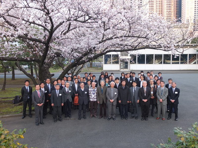 2016年度日本付着生物学会総会・研究集会集合写真